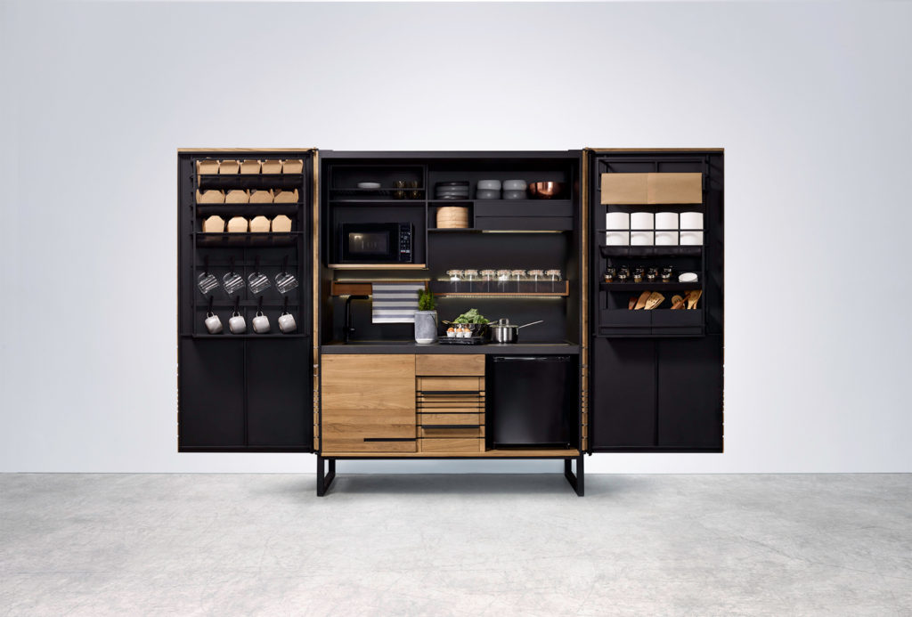 Q compact cabinet - QRUA kitchen